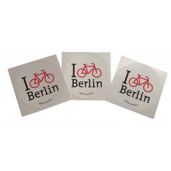 Outdoor Aufkleber - I bike...